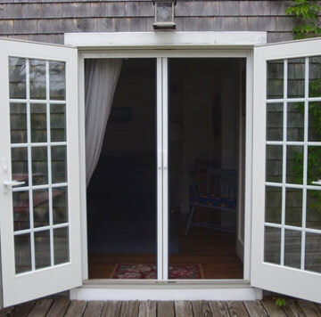 Disappearing Screen Doors For French Door