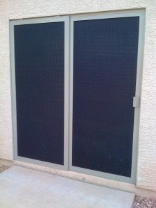 Marquis sliding screen door